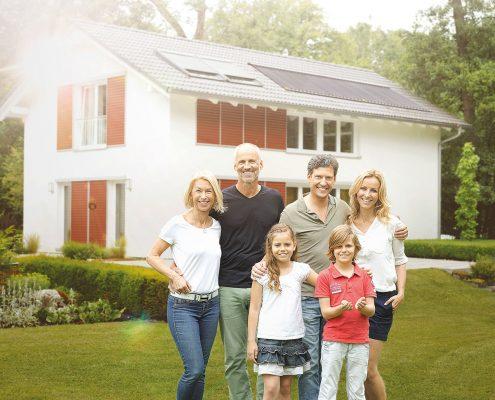 Paradigma Solaranlage für Einfamilienhaus