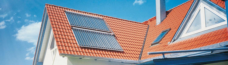 Solarkollektoren von Heizung Dreher
