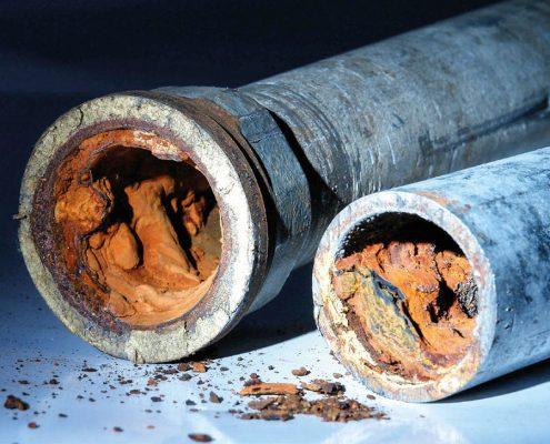 Korrosionsschutz für Rohre