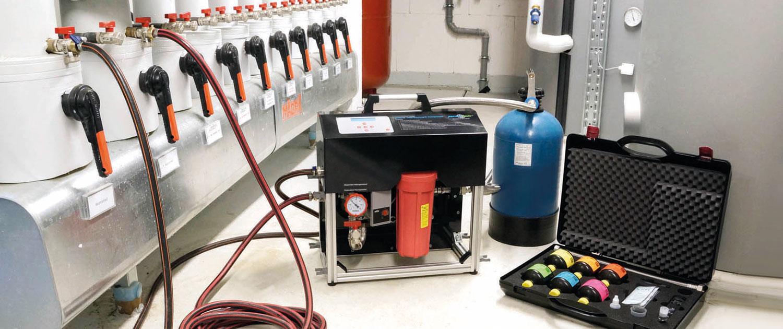 Heizungswasser-Befüllung mit permaLine